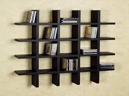 Wooden Wall Mounted Bookshelves by Wall Mounted Shelving Units For Books