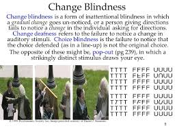 Change Blindness Task Psychology 8th Edition David Myers Ppt Video Online Download