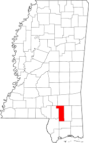 map of hattiesburg ms forrest county mississippi