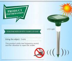 snake led light bar solar powered snake repellent with led light crazy sales