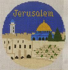 jerusalem ornament nimbleneedlenj
