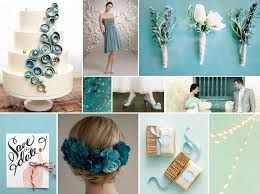 teal wedding teal wedding inspiration
