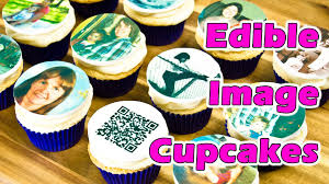 edible photos edible image cupcake toppers for my s birthday by cookies