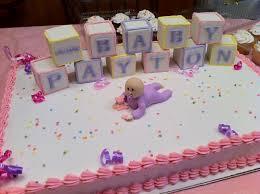 baby shower cake from safeway baby shower diy
