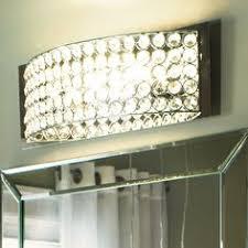 vanity lights in bathroom possini euro design crystal strand 25 3 4 wide bath light