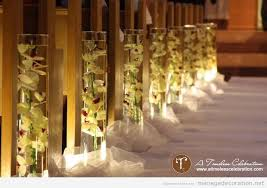 decoration eglise pour mariage idée pour décorer les bancs d une église décoration mariage