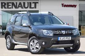 renault duster 2017 black used 2017 dacia duster laureate 1 5 dci 4x2 for sale in essex