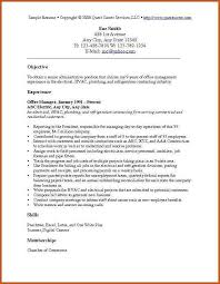 Career Objective Example Resume Career Objectives Examples Sop Example