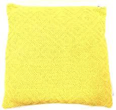 Wholesale Home Decor Merchandise 543 548 553 18x18 Chelsea Pillow Yellow Abpt37543yel 6 60