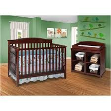 black crib with changing table this one is gorgeous too delta bailey 4 in 1 fixed side crib and