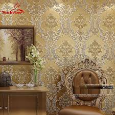 wholesale home decor suppliers canada luxury classic wall paper home decor background wall damask