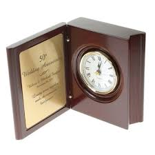 anniversary clocks engraved personalized anniversary gifts 25th 50th wedding anniversary gifts