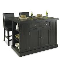 kitchen kitchen island with granite top and seating combined