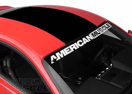 mustang windshield decal mustang exterior decal customization styling guide americanmuscle