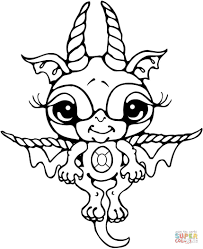 bitty dragon coloring free printable coloring pages