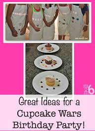 great birthday idea for an 8 year a cupcake wars