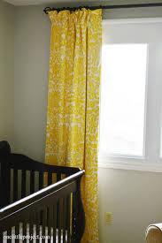 Yellow Blackout Curtains Nursery Majestic Yellow Blackout Curtains Premier Prints Amsterdam Reveal