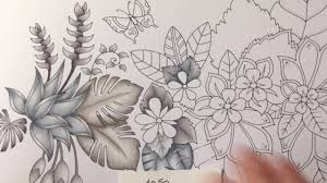 magical jungle johanna basford part 2 prismacolor pencils