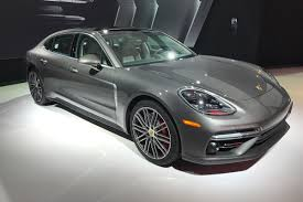 porsche panamera porsche panamera executive long wheelbase saloon unveiled at la