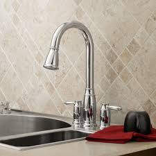 kitchen faucets with soap dispenser wynston pull high kitchen faucet with soap dispenser
