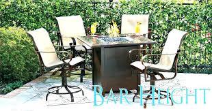 bar height patio table plans bar height outdoor table round bar height patio table and chairs