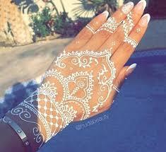 tatuagem branca white henna tattoo manu luize