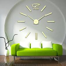 100 creative clock funlife 25x25cm 9 8 inch 3d crystal