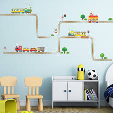 trains and tracks wall stickers trains tracks wall stickers