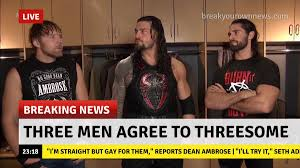 Threesome Memes - roman reigns appreciation bot on twitter since the shield is back