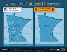 Minnesota State Map Maps Health Clinics Nationwide Compared To Planned Parenthood