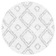 round white shag rug roselawnlutheran