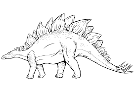 stegosaurus coloring page coloring pages online