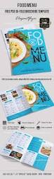 cafe menu u2013 free bi fold psd brochure template food menu u2013 by