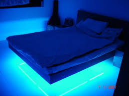 Led Lights For Bedrooms - blue led lights for bedroom within incredible bed furniture with