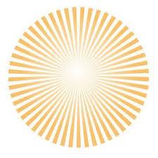 how to create vector sun rays logos design adobe