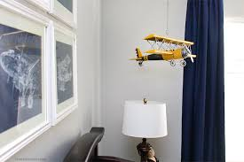 airplane themed boy bedroom how to nest for less