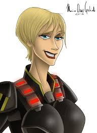 sergeant calhoun from wreck it ralph by mariooscargabriele on