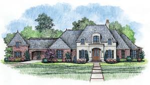 Cottage House Plans With Porte Cochere by Madden Home Design The English Turn