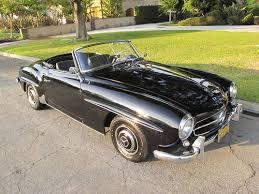 mercedes california mercedes 190sl a black california 1956 car and clas flickr