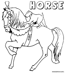 horse coloring pages coloring pages to download and print