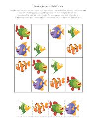 ocean animals sudoku puzzles gift of curiosity