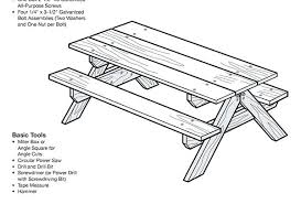 picnic table plans detached benches picnic bench plans bench plans picnic table lumber plans picnic