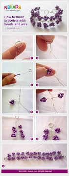 make bracelet beading wire images How to make bracelets with beads and wire pictures photos and jpg