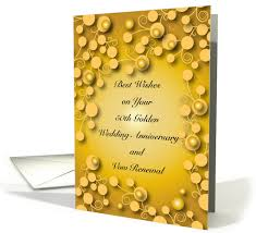 vow renewal cards congratulations congratulations vow renewal 50th anniversary card 1301014