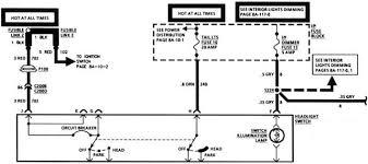 camaro headlight switch schematic