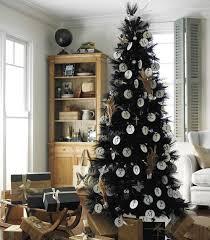 pretty black and white christmas tree decorations 2017 christmas