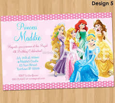 princess birthday party invitations 2 best birthday resource gallery
