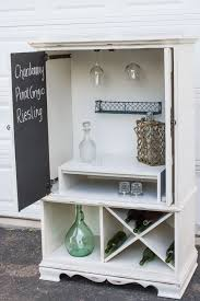 wine hutch all finished my tv armoire repurposed into a wine