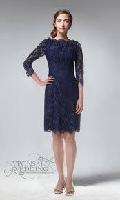 full lace knee length bridesmaid dress blue dvw0159 vponsale
