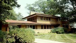 Frank Lloyd Wright Inspired Home Plans Prairie Style House 1900 1920 Old House Web